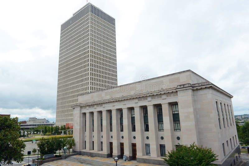 Ανώτατο δικαστήριο του Τένεσι, Νάσβιλ, TN, ΗΠΑ στοκ εικόνες