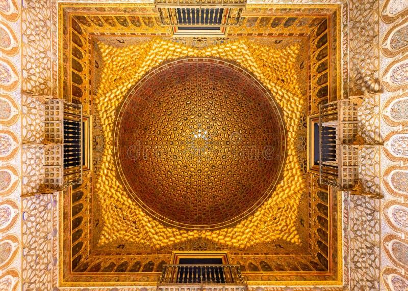 Ανώτατο όριο θόλων της αραβικής αρχιτεκτονικής Ισλάμ στοκ φωτογραφία
