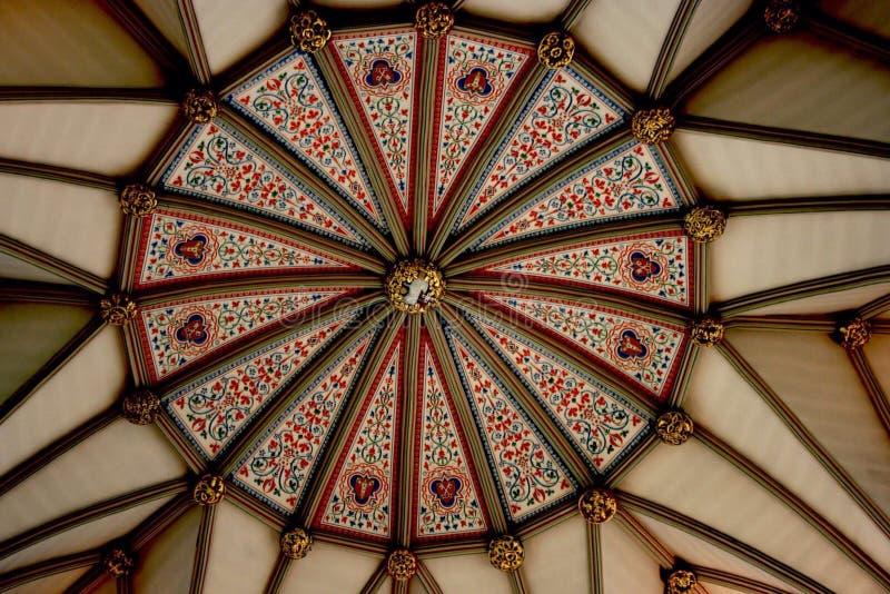 Ανώτατο όριο καθεδρικών ναών Durham στοκ φωτογραφία με δικαίωμα ελεύθερης χρήσης