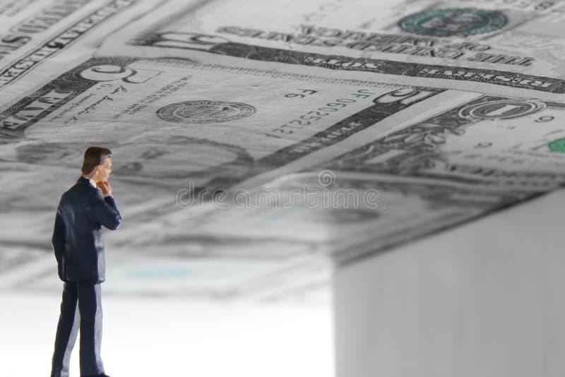 Ανώτατο όριο χρέους στοκ εικόνες με δικαίωμα ελεύθερης χρήσης