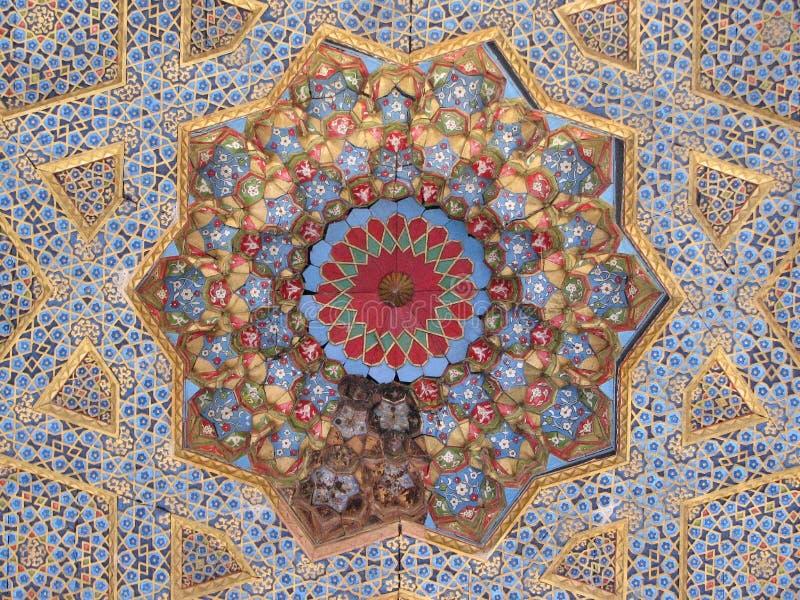 Ανώτατο όριο baha-ud-DIN Naqshband σύνθετο στη Μπουχάρα στοκ εικόνες
