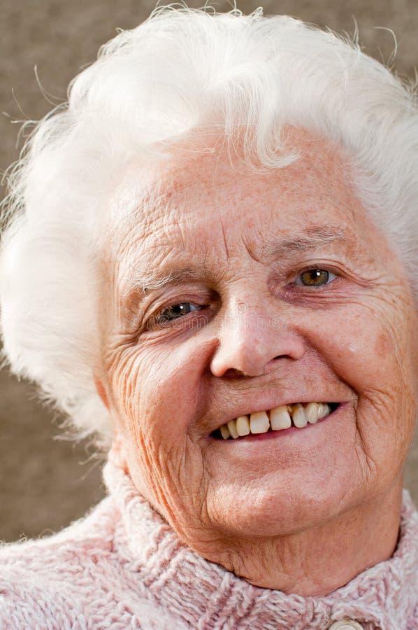 Download ανώτερη γυναίκα πορτρέτο&upsilo Στοκ Εικόνα - εικόνα από πορτρέτο, κεφάλι: 17059689