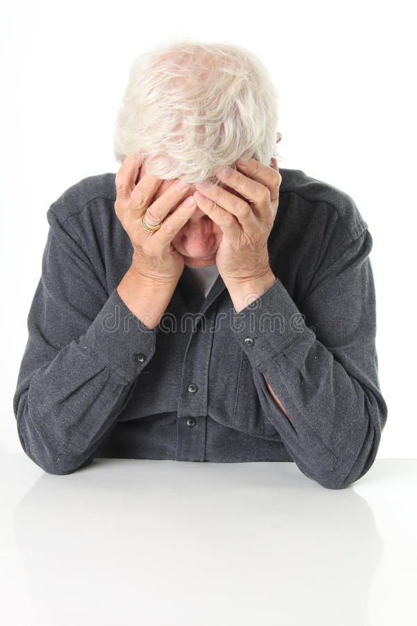 Ανώτερη κατάθλιψη στοκ φωτογραφία με δικαίωμα ελεύθερης χρήσης