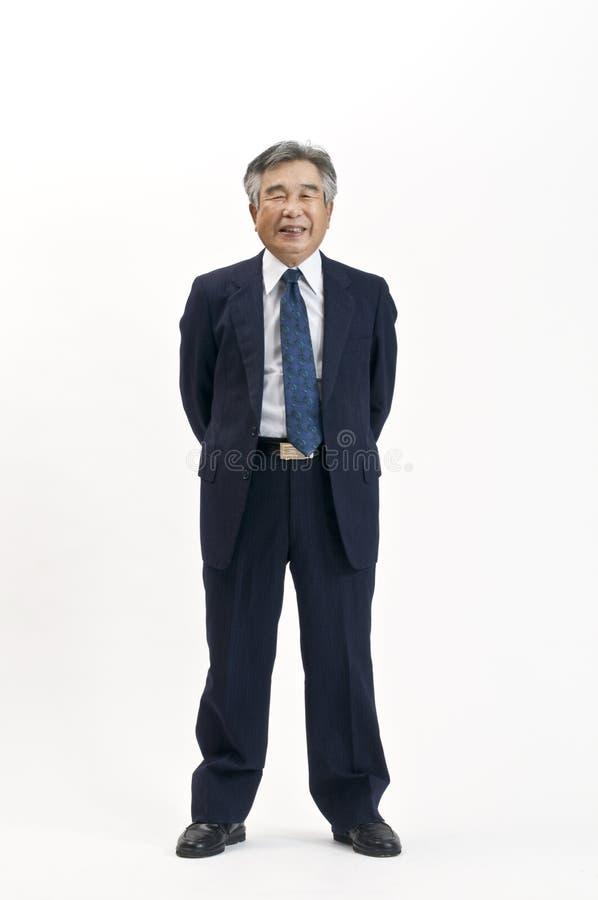 Ανώτερος ιαπωνικός επιχειρηματίας στοκ φωτογραφία
