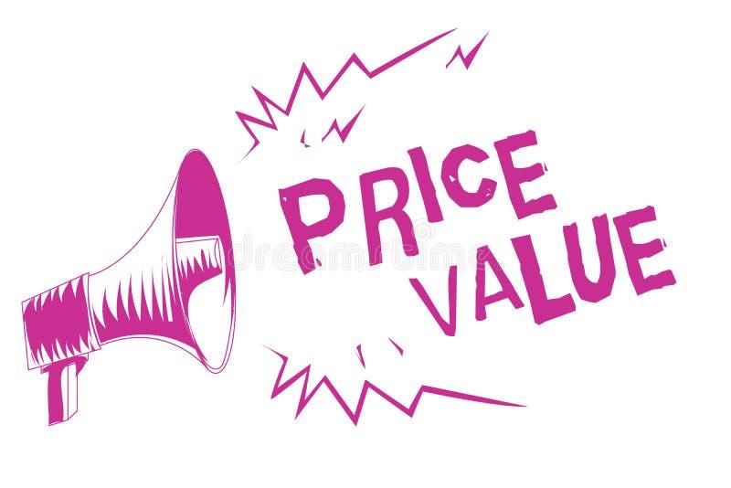 Αξία τιμών κειμένων γραψίματος λέξης Επιχειρησιακή έννοια για τη στρατηγική που θέτει το κόστος πρώτιστα αλλά όχι αποκλειστικά πο απεικόνιση αποθεμάτων