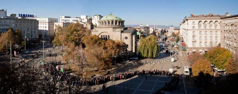 Αξίωμα πατριαρχών της κηδείας της Βουλγαρίας στοκ φωτογραφία με δικαίωμα ελεύθερης χρήσης