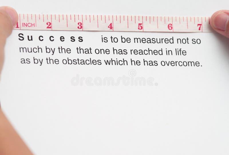αξιολόγηση της επιτυχία&sigm στοκ φωτογραφίες