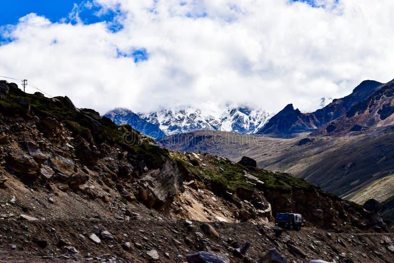 Απίστευτο βόρειο Sikkim, Ινδία στοκ εικόνες
