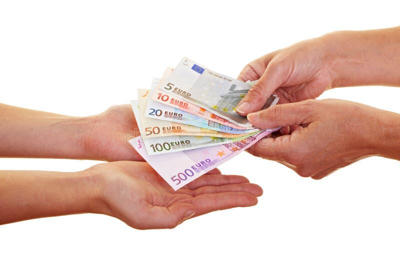 απαίτηση των ευρωπαϊκών χρη& στοκ φωτογραφία με δικαίωμα ελεύθερης χρήσης