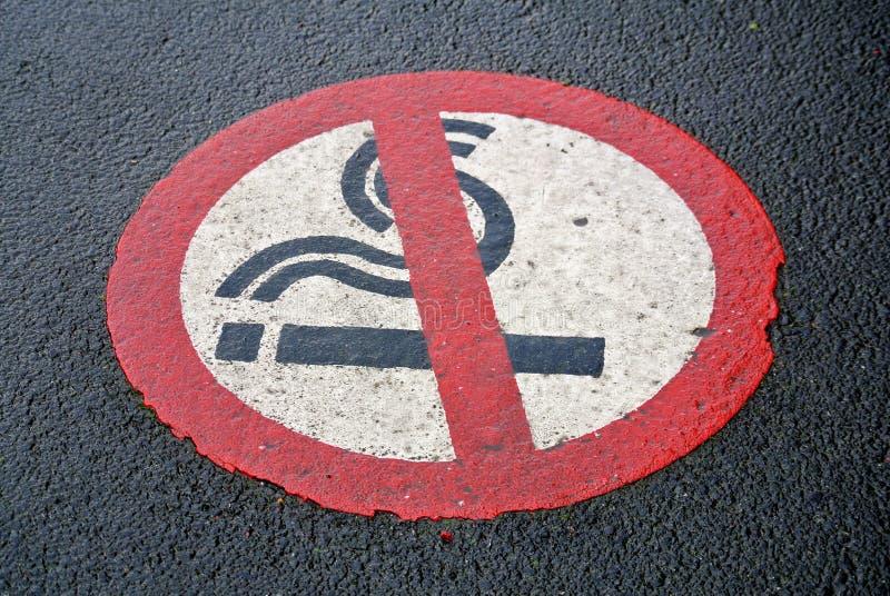 Απαγόρευση καπνίσματος στοκ εικόνες με δικαίωμα ελεύθερης χρήσης
