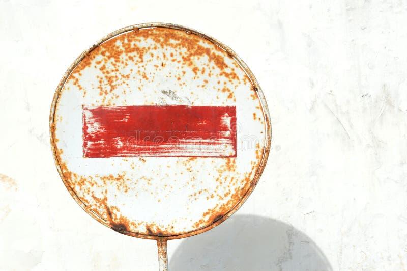 Απαγόρευση σημαδιών στοκ φωτογραφία με δικαίωμα ελεύθερης χρήσης