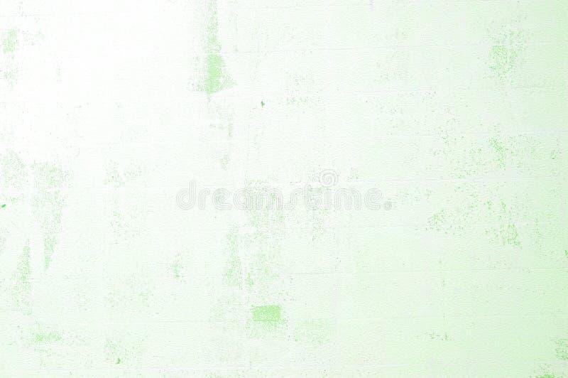 Απαλό πράσινο φόντο τοίχου γρυλίσματος με γρατζουνιές στοκ εικόνα