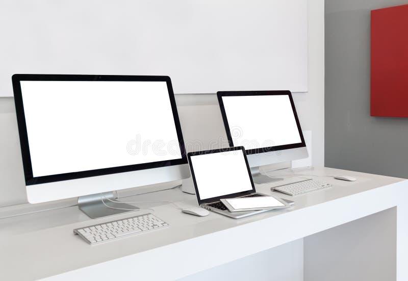 Απαντητικές συσκευές στοκ εικόνες με δικαίωμα ελεύθερης χρήσης