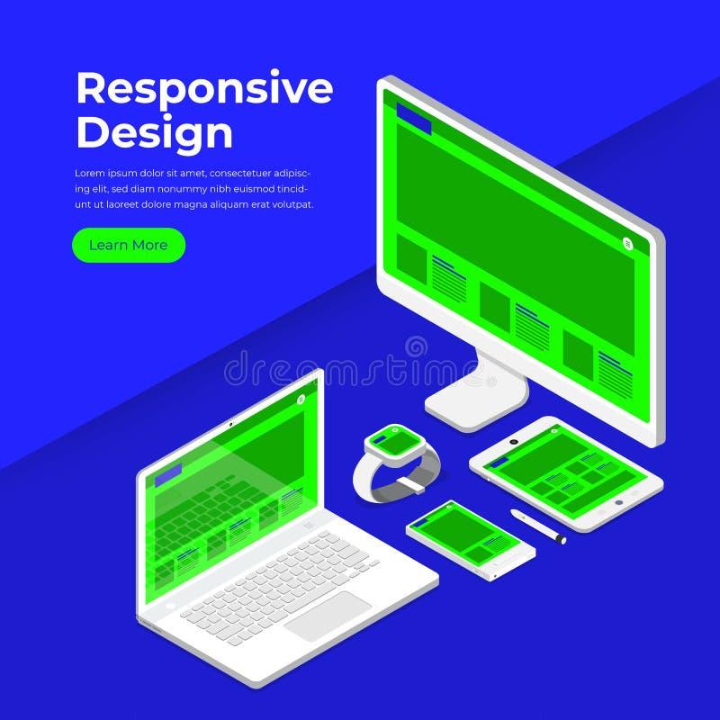 Απαντητική έννοια Designe απεικόνιση αποθεμάτων