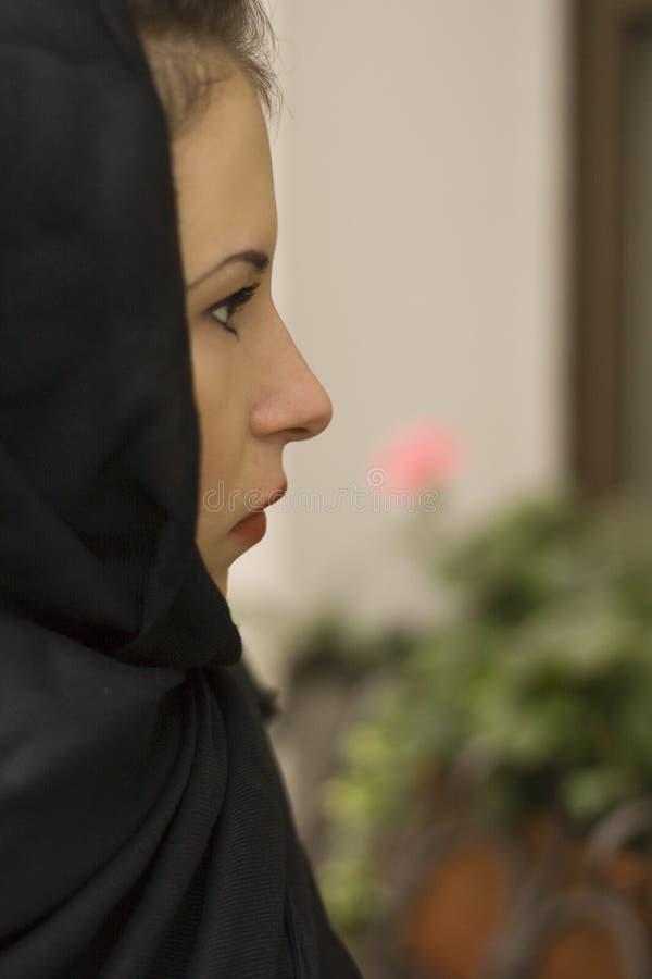 απαρηγόροτη χήρα πορτρέτου στοκ εικόνες