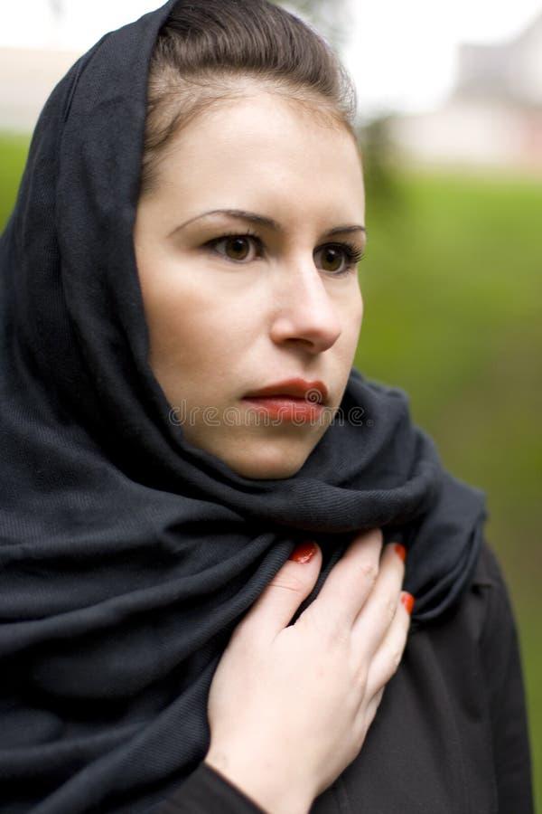 απαρηγόροτη χήρα στοκ εικόνα με δικαίωμα ελεύθερης χρήσης