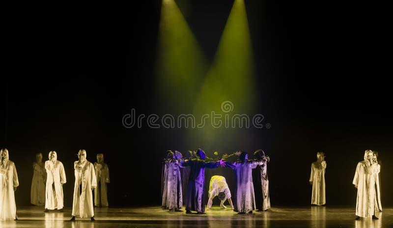 Απεικονίζω-ανεξάρτητος αξία-χορός με έναν χορό ` μάσκα-Huang Mingliang ` s κανένα καταφύγιο ` στοκ φωτογραφία με δικαίωμα ελεύθερης χρήσης