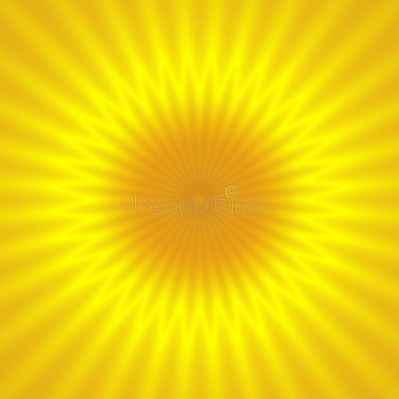 Απεικονίστε την ανοικτό κίτρινο σύσταση σχεδίων ακτίνων ήλιων διανυσματική απεικόνιση