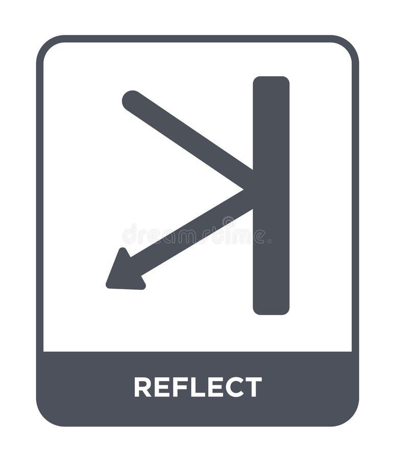 απεικονίστε το εικονίδιο στο καθιερώνον τη μόδα ύφος σχεδίου Απεικονίστε το εικονίδιο που απομονώνεται στο άσπρο υπόβαθρο απεικον ελεύθερη απεικόνιση δικαιώματος
