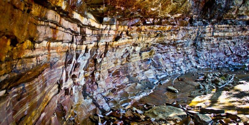Απεικονισμένοι βράχοι, Μίτσιγκαν στοκ εικόνα