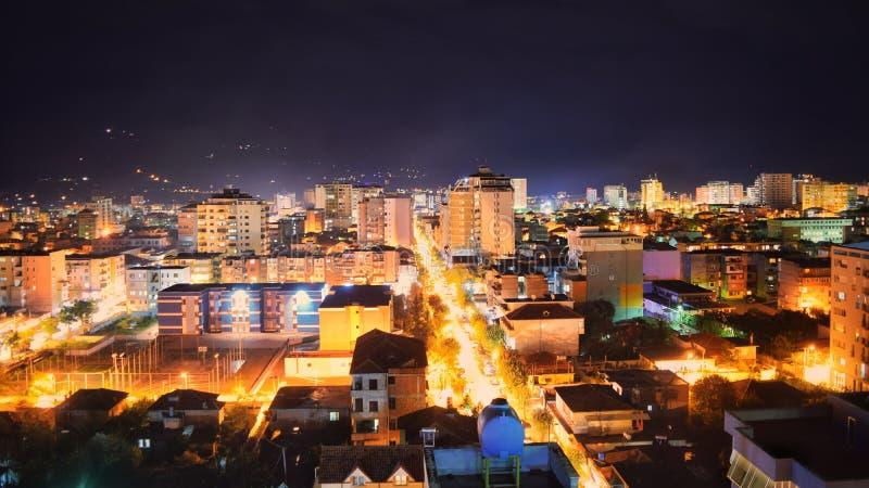 απεικονισμένος νύχτα ποταμός τοπίων του Κρεμλίνου πόλεων στοκ εικόνες