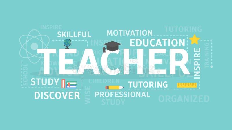 Απεικόνιση έννοιας δασκάλων ελεύθερη απεικόνιση δικαιώματος