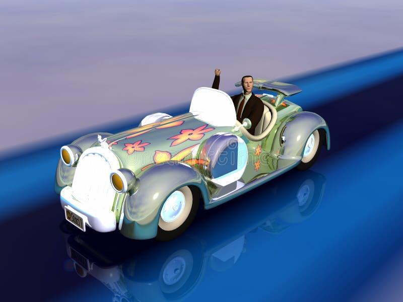 Download απεικόνιση αυτοκινήτων επιχειρηματιών Απεικόνιση αποθεμάτων - εικονογραφία από χιουμοριστικός, αυτοκίνητο: 393415