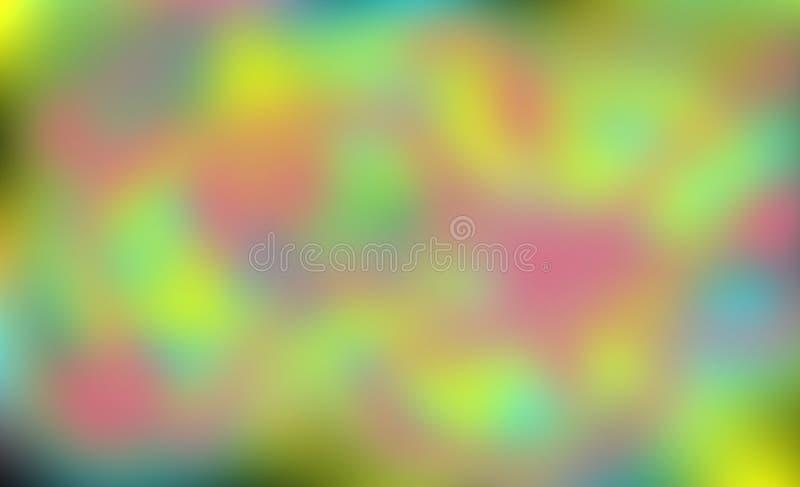 Απεικόνιση για το Διαδίκτυο ή την τυπωμένη ύλη φωτεινός πολύχρωμος ανα&sigm ελεύθερη απεικόνιση δικαιώματος