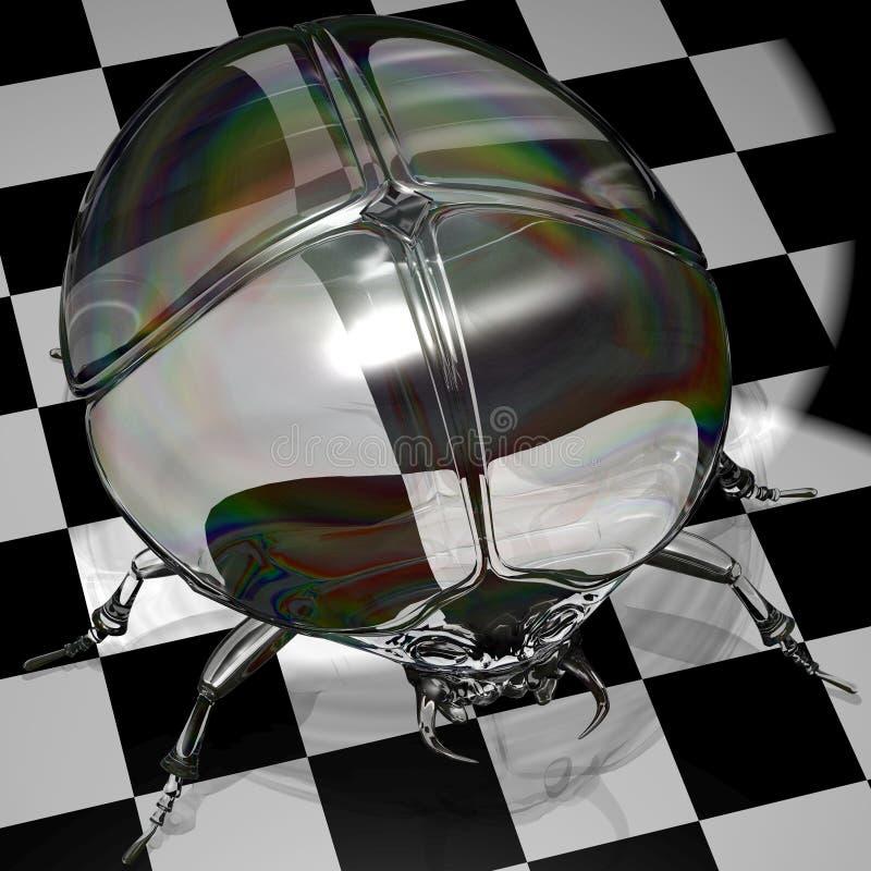 απεικόνιση γυαλιού scarab ελεύθερη απεικόνιση δικαιώματος