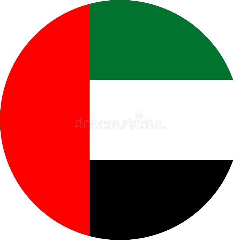 Απεικόνιση διανυσματικό eps σημαιών των Ηνωμένων Αραβικών Εμιράτων απεικόνιση αποθεμάτων