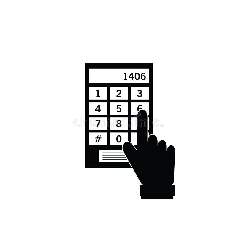 Απεικόνιση εικονιδίων ασφάλειας ελεύθερη απεικόνιση δικαιώματος