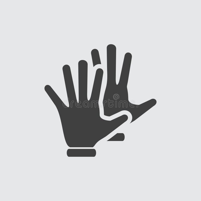 Απεικόνιση εικονιδίων χεριών ελεύθερη απεικόνιση δικαιώματος