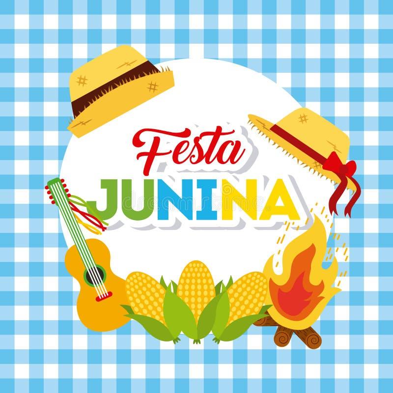 Απεικόνιση Ιουνίου εορτασμού απεικόνιση αποθεμάτων