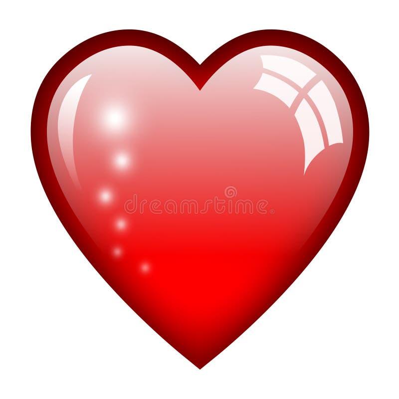 Απεικόνιση καρδιών διανυσματική απεικόνιση