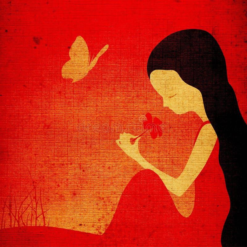 απεικόνιση κοριτσιών φαντ& ελεύθερη απεικόνιση δικαιώματος