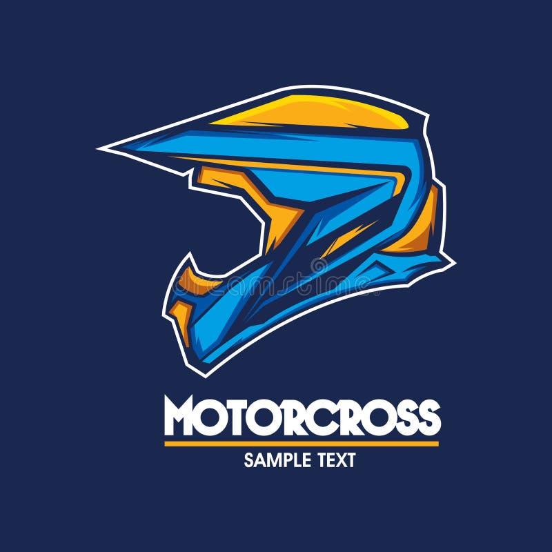 Απεικόνιση λογότυπων μοτοσικλετών διανυσματική απεικόνιση