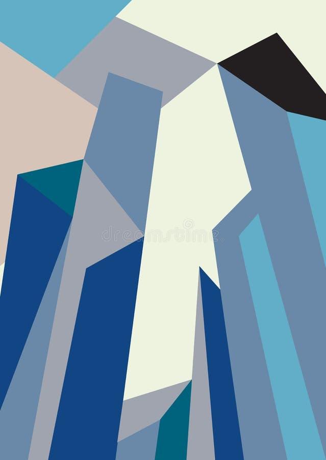 Απεικόνιση οριζόντων πόλεων landscape urban Πρωινός ορίζοντας πόλεων απεικόνιση αποθεμάτων
