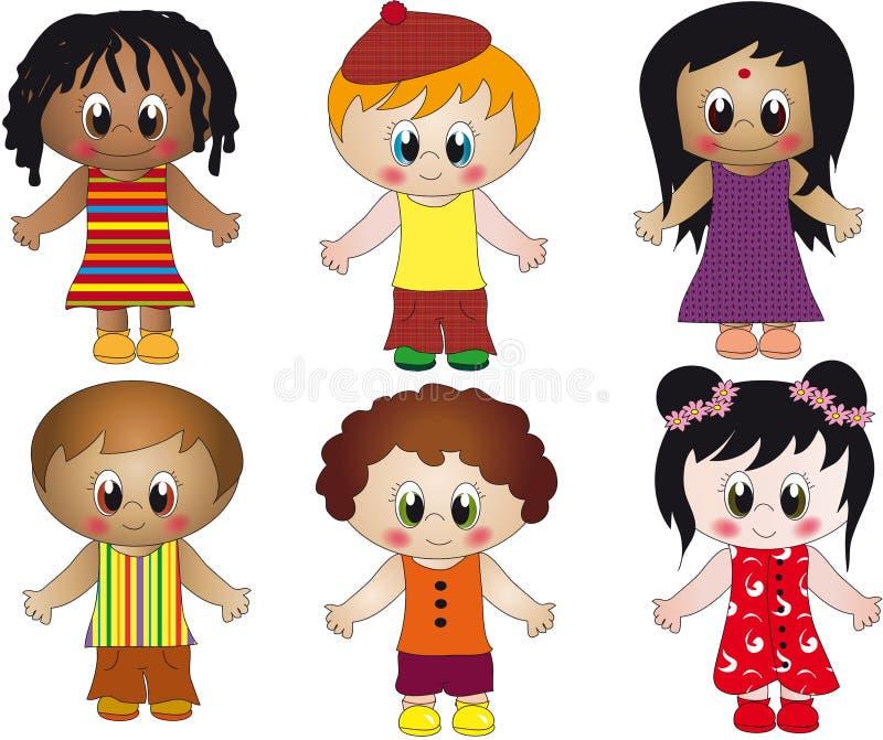 απεικόνιση παιδιών απεικόνιση αποθεμάτων
