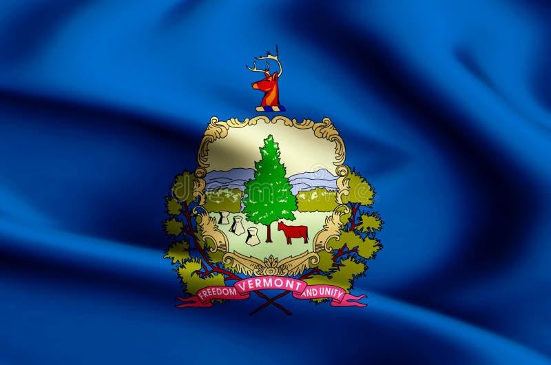 Απεικόνιση σημαιών του Βερμόντ ελεύθερη απεικόνιση δικαιώματος
