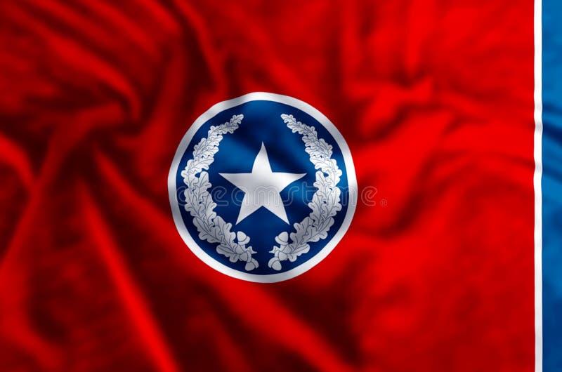 Απεικόνιση σημαιών του Σατανούγκα διανυσματική απεικόνιση