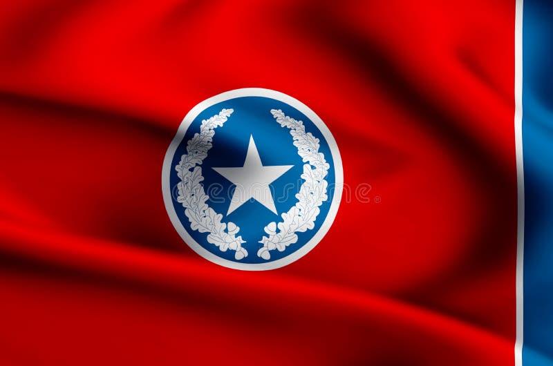 Απεικόνιση σημαιών του Σατανούγκα ελεύθερη απεικόνιση δικαιώματος
