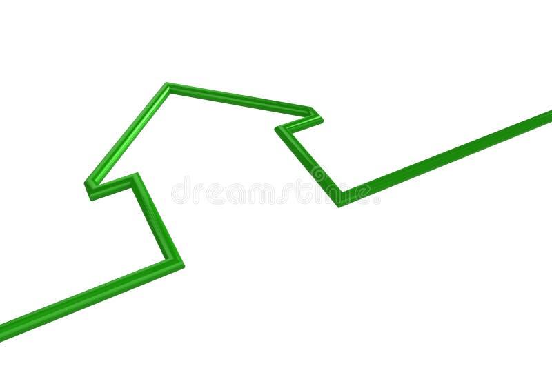 απεικόνιση σπιτιών διανυσματική απεικόνιση