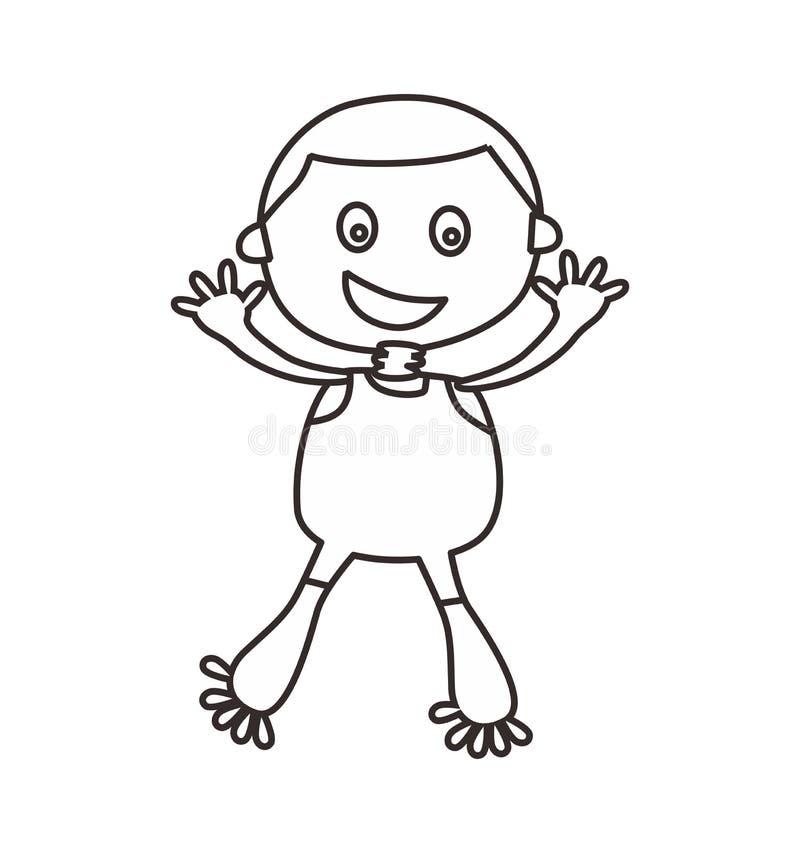 Download Απεικόνιση τέχνης εικονιδίων περιλήψεων Διανυσματική απεικόνιση - εικονογραφία από μολύβι, σχέδιο: 62713418