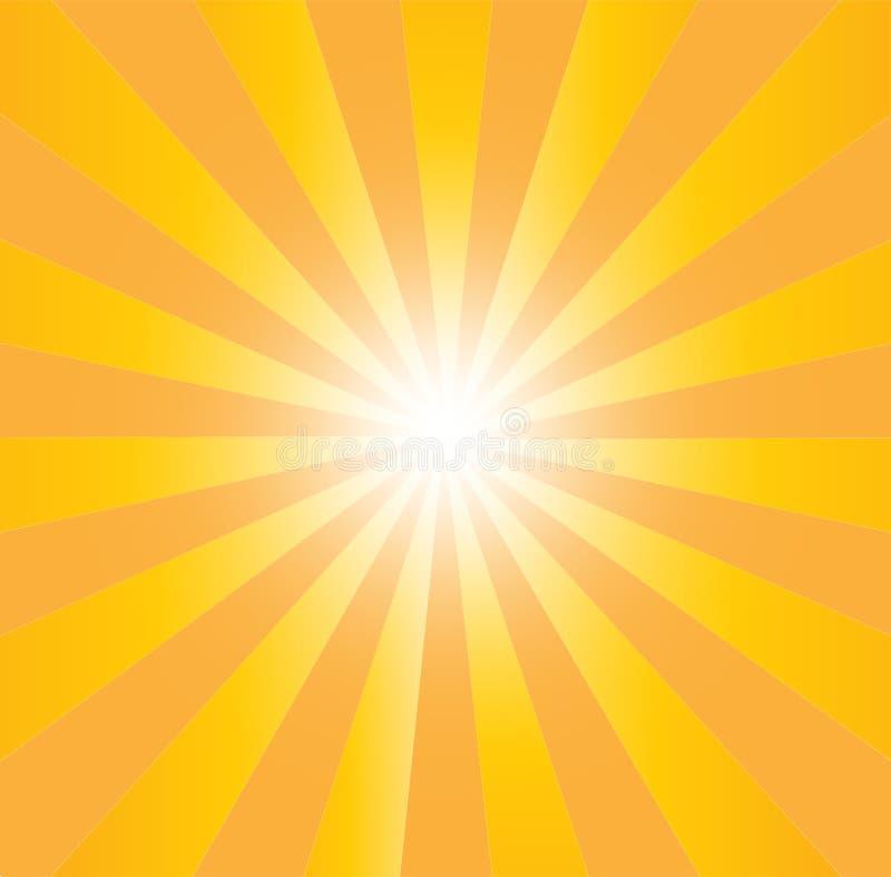 Απεικόνιση της ηλιοφάνειας ελεύθερη απεικόνιση δικαιώματος