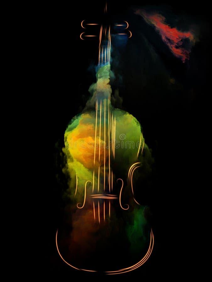 Απεικόνιση της μουσικής ελεύθερη απεικόνιση δικαιώματος