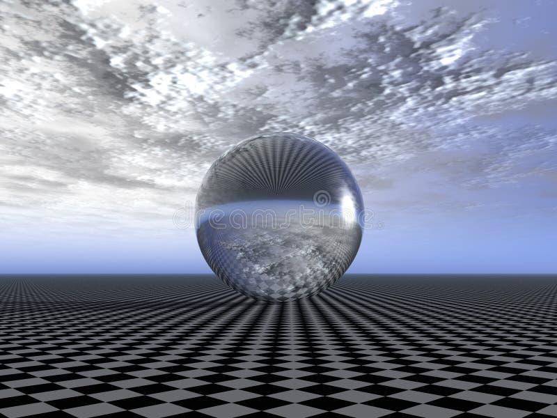 απεικόνιση της σφαίρας διανυσματική απεικόνιση