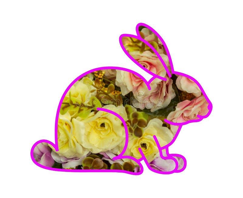 Απεικόνιση του λαγουδάκι λουλουδιών απεικόνιση αποθεμάτων