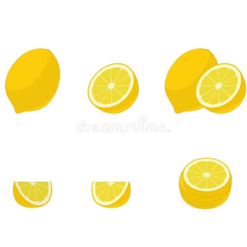 Απεικόνιση του λεμονιού στοκ εικόνα με δικαίωμα ελεύθερης χρήσης