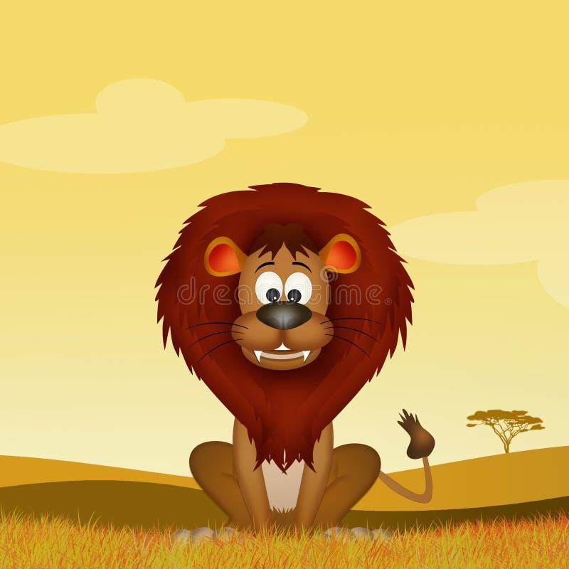 Απεικόνιση του λιονταριού απεικόνιση αποθεμάτων