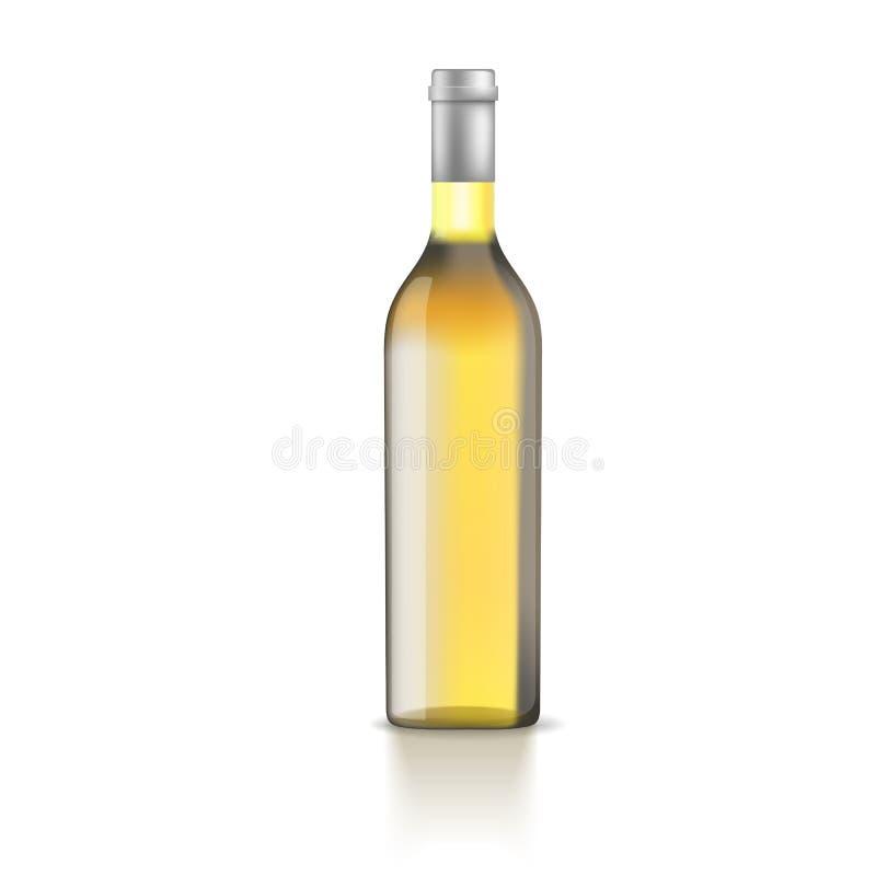 Απεικόνιση του μπουκαλιού διανυσματική απεικόνιση